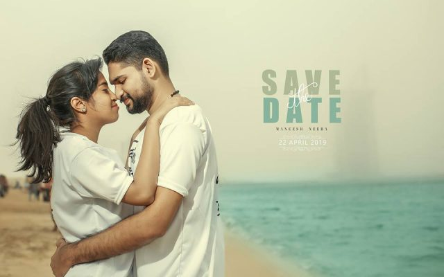 maneesh neeba crayons save the date photography